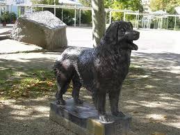 Памятник собаке Леонбергер